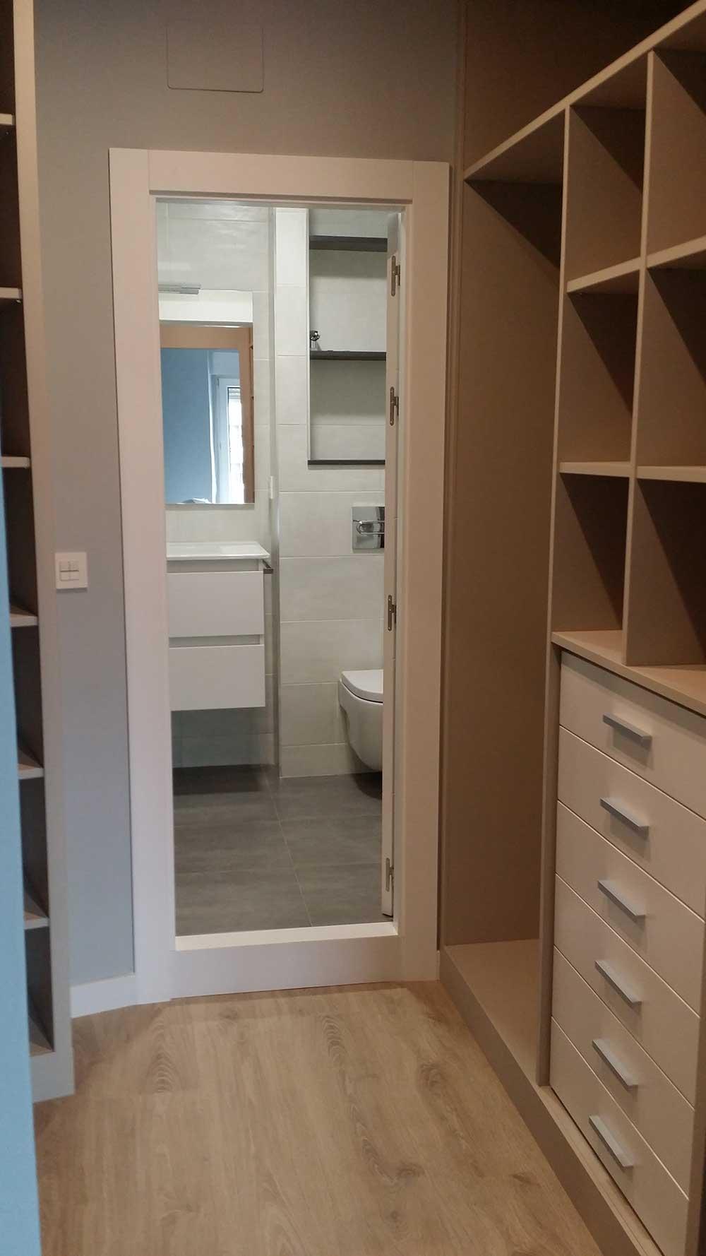 Dormitorios Con Vestidor Y Baño   Dormitorio Vestidor Y Bano Integrado Obras Y Proyectos