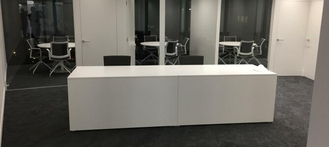 Oficina en Madrid, Edificio Torre Europa. Instalación integral.
